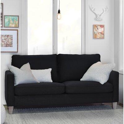 Arm Sofa Square Black pic
