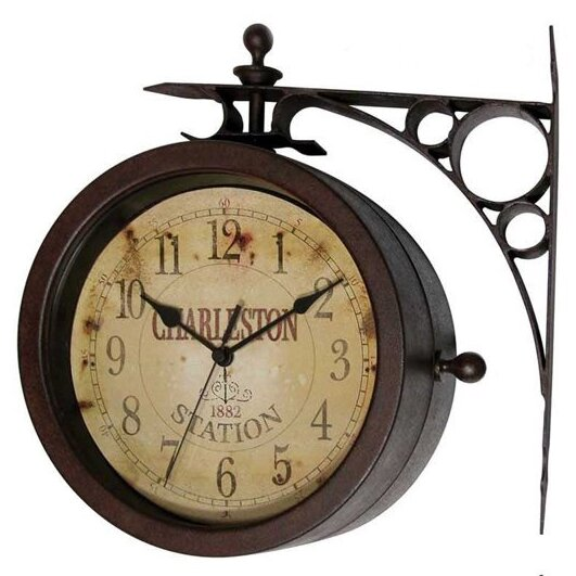 8.6 Wall Clock by Charlton Home