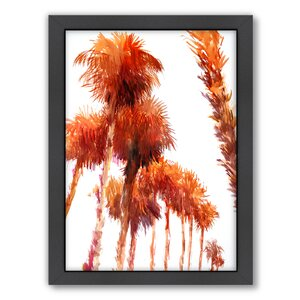 Trees by Suren Nersisyan Framed Painting Print by Americanflat