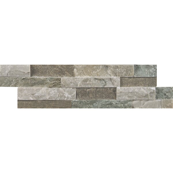 Sierra Natural Stone Mosaic Tile in Blue by MSI