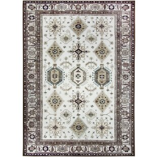 Noor Hand Woven Taupe Outdoor Area Rug by Ruggable