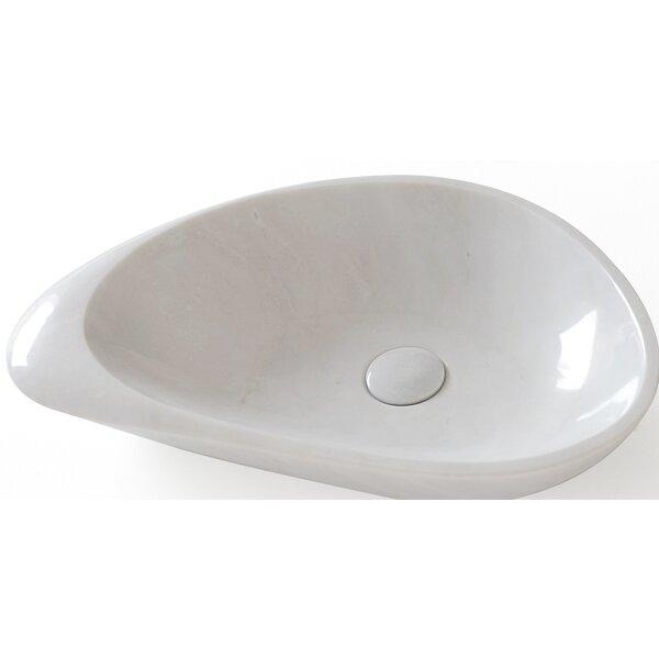 Fontana Stone Oval Vessel Bathroom Sink