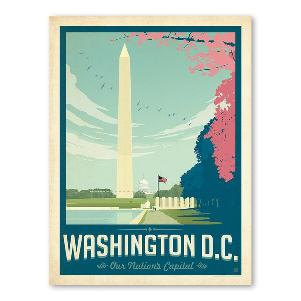 Washington D.C 1003 Vintage Advertisement by East Urban Home