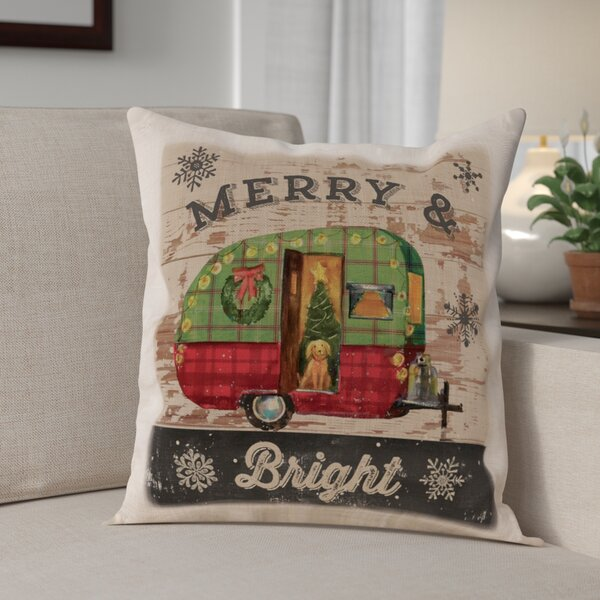 Christmas Plaid Pillow Cover by The Holiday Aisle