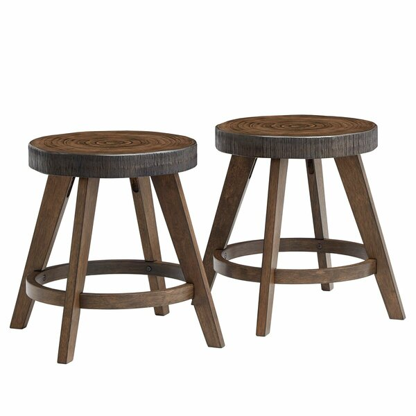 Burford Accent Stool (Set of 2) by Trent Austin Design