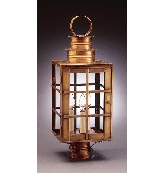 Suffolk Chimney Can Top H-Bars 1-Light Lantern Head by Northeast Lantern