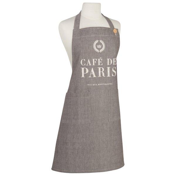 Café De Paris Basic Unisex Apron by Now Designs
