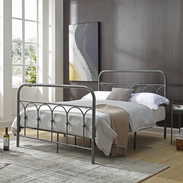 Greenwich Metal Platform Bed by Red Barrel Studio
