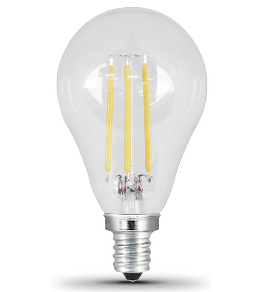 4.5W E12/Candelabra LED Light Bulb Pack of 2 by FeitElectric