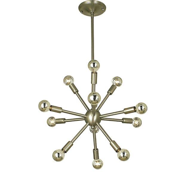Frizzell 12 - Light Sputnik Sphere Chandelier by George Oliver George Oliver