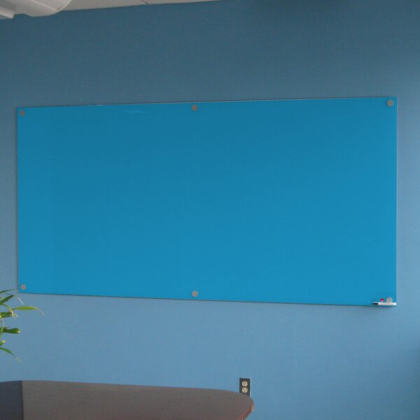 Wall Mounted Glass Board by Casca