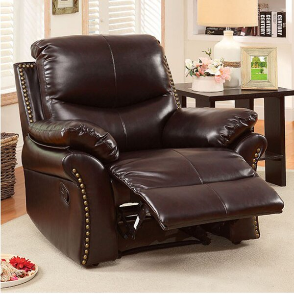 Apsel Transitional Manual Rocker Recliner by Darby Home Co