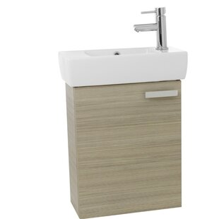 Best Reviews Cubical 19 Single Wall Mount Bathroom Vanity Set By Nameeks Vanities