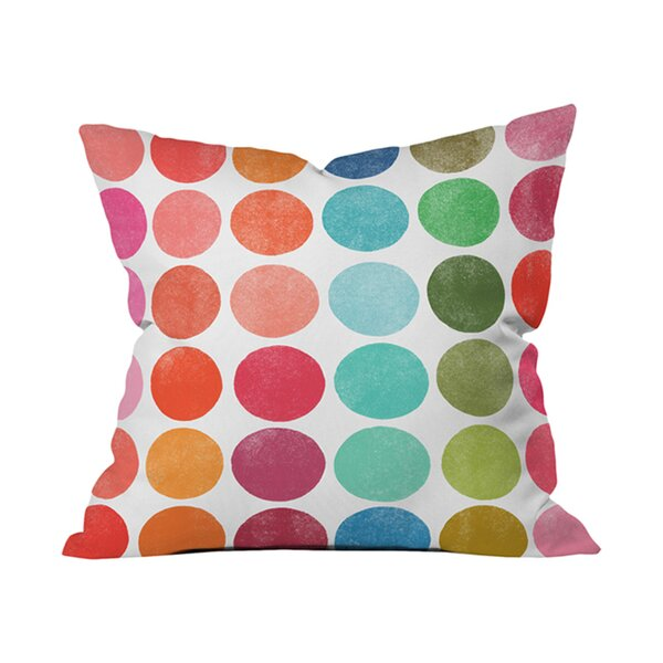 Garima Dhawan Colorplay 5 Outdoor Throw Pillow by Deny Designs