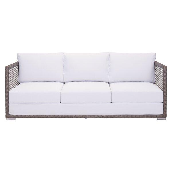 Baca Sofa with Cushions by Brayden Studio