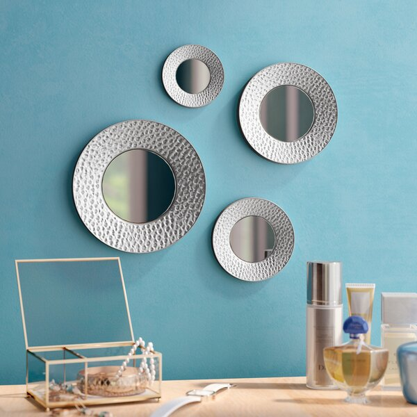 4 Piece Goosby Wall Mirror Set by Mercury Row