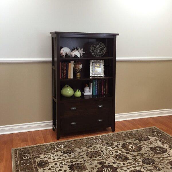 Gaudreau 2-Drawer Standard Bookcase by Red Barrel Studio