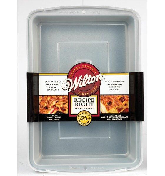 Non-Stick Recipe Right Cake Pan by Wilton