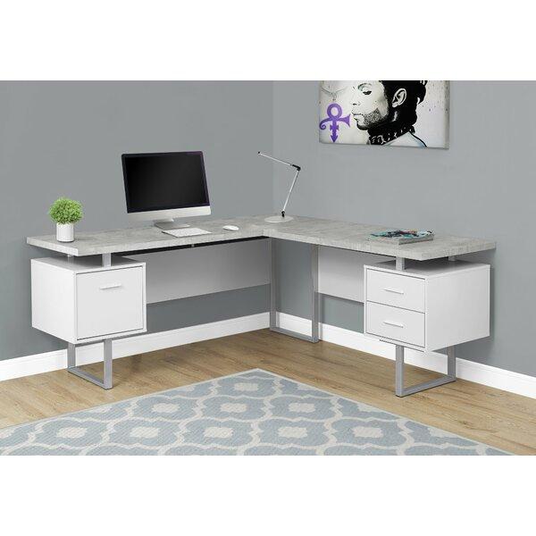Darroll L-Shape Corner Desk by Latitude Run