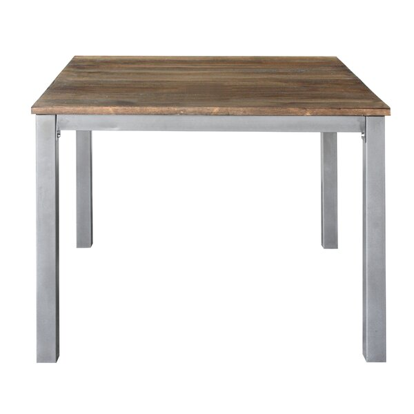 Square Dining Table by REZ Furniture