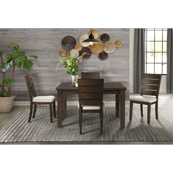 Burkhart 5 Piece Dining Set by Gracie Oaks