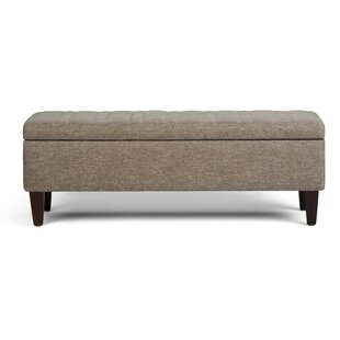 Purchase Monroe Upholstered Storage Bench BySimpli Home