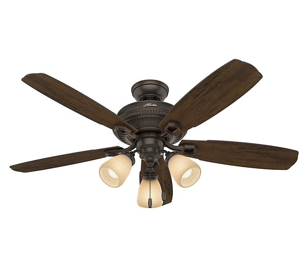 52 Ambrose 5-Blade Ceiling Fan by Hunter Fan