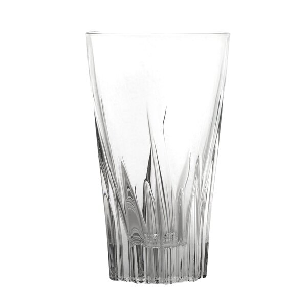 Braun Crystal 12 oz. Glass Highball Glass (Set of 6) by House of Hampton