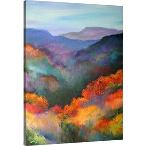 The Hills Are Alive by Jonas Gerard Painting Print on Canvas by Great Big Canvas