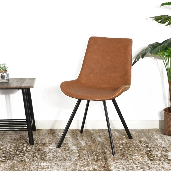 Inessa Upholstered Dining Chair (Set of 2) by Union Rustic