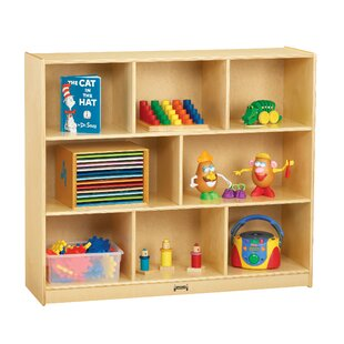 8 Compartment Cubby with Casters By Jonti-Craft