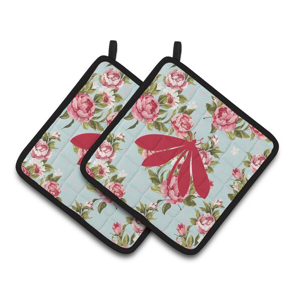 Moth Potholder (Set of 2) by Caroline's Treasures