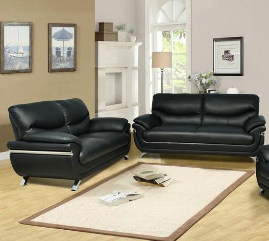 Liam 2 Piece Living Room Set by Beverly Fine Furniture