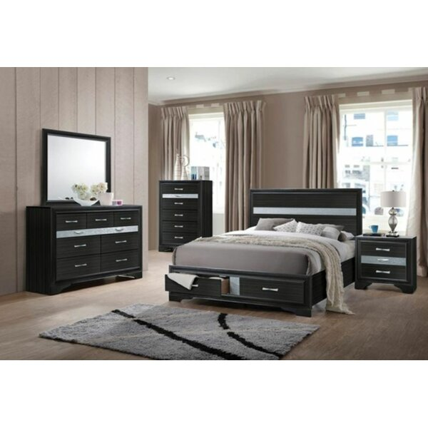 Doughtry Platform Configurable Bedroom Set by Latitude Run