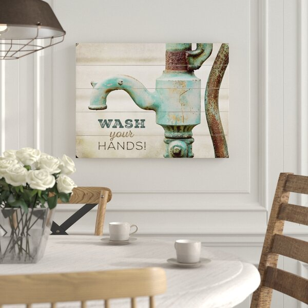 Wash Your Hands Photographic Print by Laurel Foundry Modern Farmhouse