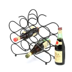 Jessica 12 Bottle Tabletop Wine Rack by Fleur De Lis Living