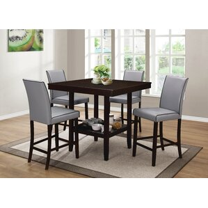 Mckee 5 Piece Counter Height Dining Set by Darby Home Co
