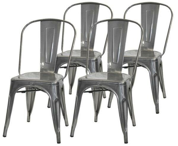 Helsley Cafe Dining Chair (Set of 4) by Williston Forge