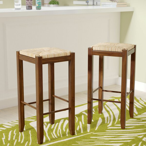 Dino 29 Bar Stool (Set of 2) by Beachcrest Home