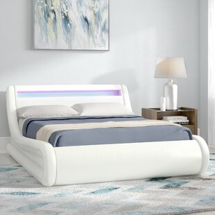 Stupendous Galaxy Led Upholstered Ottoman Bed Forskolin Free Trial Chair Design Images Forskolin Free Trialorg