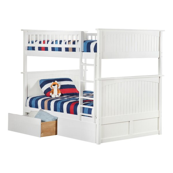 Abbie Full Over Full Bunk Bed with Drawers by Harriet Bee