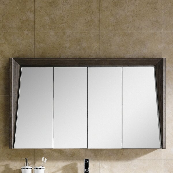 Emerson 47.25 x 27.13 Surface Mount Medicine Cabinet by Langley Street