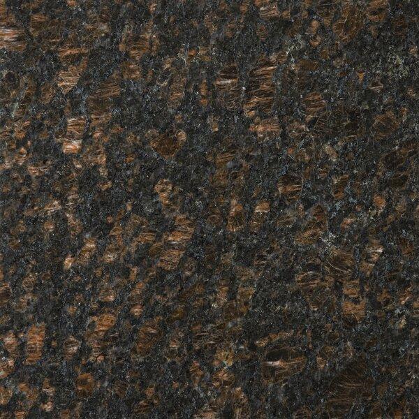 Granite 12 x 12 Field Tile in Tan Brown by Emser Tile