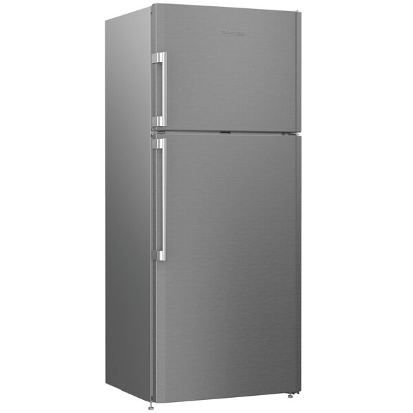 12.56 cu. ft. Energy Star Counter Depth Top Freezer Refrigerator with Auto Ice Maker by Blomberg