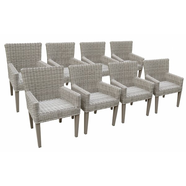 Shonnard Patio Dining Chair (Set of 8) by Breakwater Bay