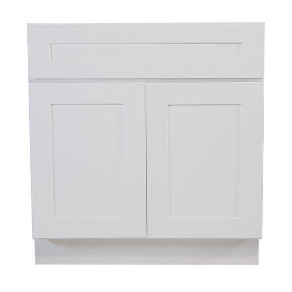 Brookings 34.5 x 42 Sink Base Cabinet by Design House