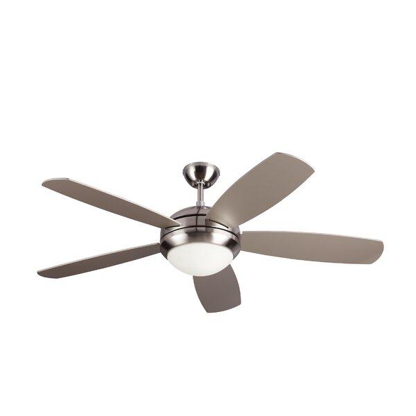 52 Sharp 5 Blade Ceiling Fan by Ebern Designs