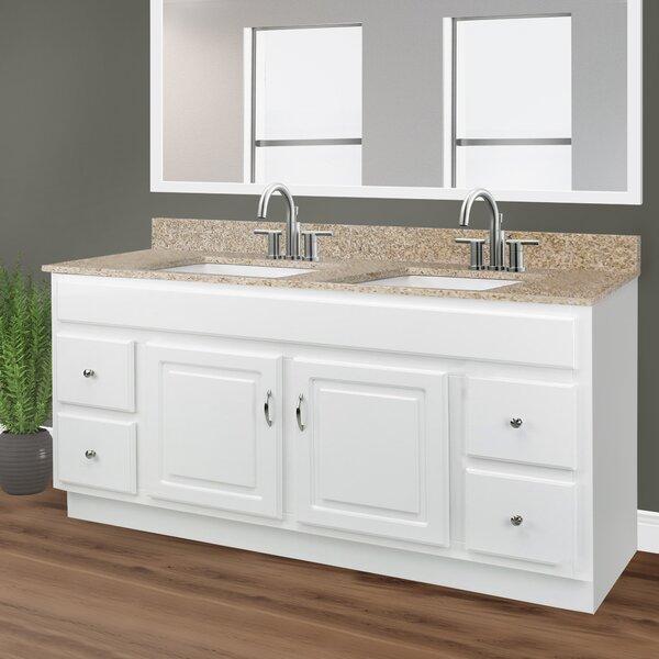 Searle 2-Door 4-Drawer 61 Double Bathroom Vanity Set