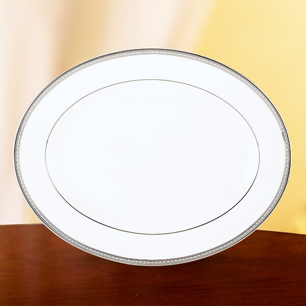 Murray Hill Oval Platter by Lenox