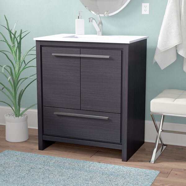 Bosley 30 Modern Bathroom Vanity by Mercury Row